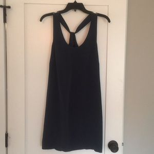 J.Crew 100% Silk Navy Dress